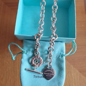Heart Tag Toggle Necklace Tiffany & Co